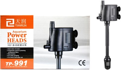 Tianrun Aquarium Power Head TP-991   Imported - Water Filter & Air Creator Air Aquarium Pump(135.5 cm)
