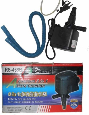 RS Electrical RS-468B multi-function submersible Water Aquarium Pump
