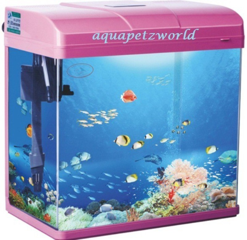 Pufeit PF-285 Rectangle Aquarium Tank(13 L)