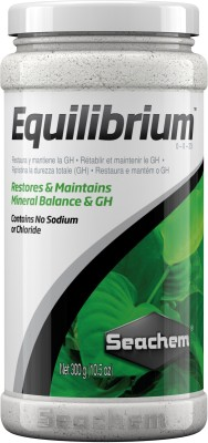 Seachem Equilibrium 300g | Restores & Maintains Mineral Balance & GH | Aquatic Plant Fertilizer(300 ml)