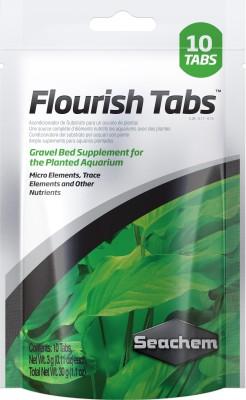 Seachem Flourish 10-Tabs Micro Elements, Trace Elements and Other Nutrients (Total Net Wt.30g) Aquatic Plant Fertilizer(10 Pieces)