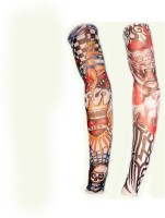 New Life Enterprise Nylon Arm Sleeve For Men & Women With Tattoo(M, Multicolor)