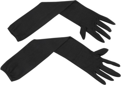 RJVON Cotton Arm Sleeve For Men(M, Black)