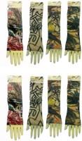 TeEye Nylon Arm Sleeve For Men & Women With Tattoo(M, Multicolor)