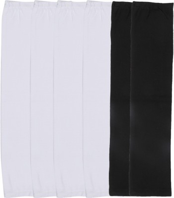Gumber GE_TUBE_W_W_BLK_3PC Cotton Arm Warmer