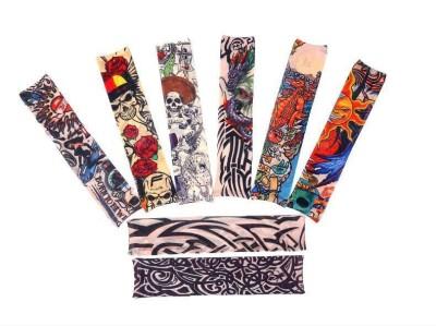 Aadishwar Creations Tattoo10 Nylon Arm Warmer