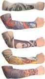 Jack & Ginni 8 Nylon Arm Warmer (Multico...