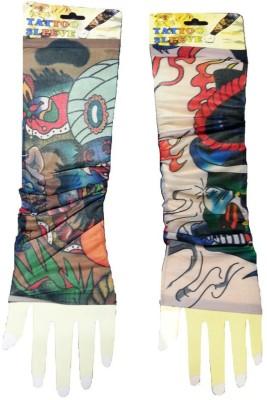 Aadishwar Creations Tattoo18 Nylon Arm Warmer