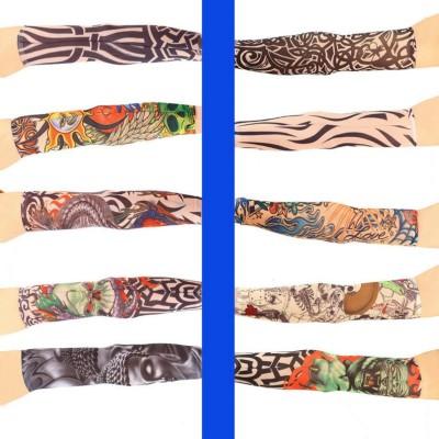 Aadishwar Creations Tattoo26 Nylon Arm Warmer