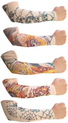 Aadishwar Creations Tattoo2 Nylon Arm Warmer