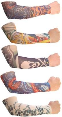 Aadishwar Creations Tattoo1 Nylon Arm Warmer