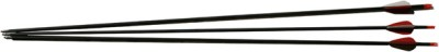Adraxx Carbon Fibre With 500 Spine For 35-45 LBs Recurve Bow (Set of 3) Arrow