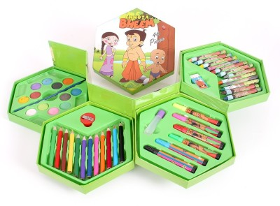 Lotus 46 Piece Chhota Bheem Art Craft Kit