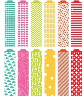 American Crafts Project Life Designer Dividers + Label Stickers Honey Edition