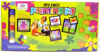Happy Kidz My First Painting Kit Toys