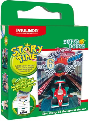 Paulinda Story Time Speed Chaser Super Dough Kit