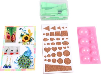 Naarilok Quillers Tool Kit Of Quilling Towers Mould Book Big Board Needle
