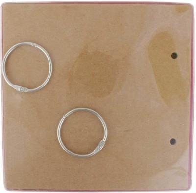 Tootpado Square Shaped Chipboard Mini Album Scrapbook (6,, x 6,,) - DIY Art & Craft Activites