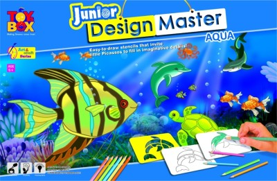 Toysbox Design Master - Jr. ( Aqua )