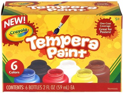 Crayola Tempera Paint Set