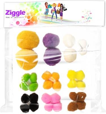 Ziggle Big Pom Poms Kit