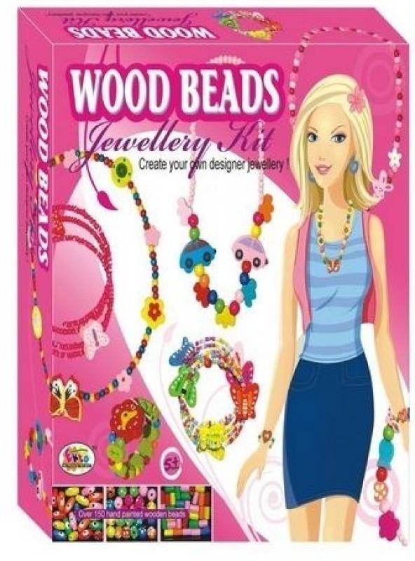 Ekta Wood Beads Jewellery Kit (Junior)