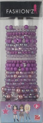 Fashionz 24 Bracelets - Purple