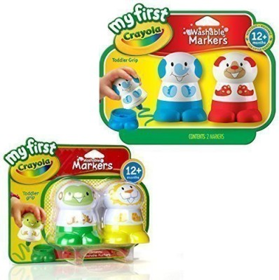 Crayola Washable Markers - My First Crayola Toddler Toys!