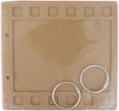 Tootpado Filmstrip Style Chipboard Mini Album Scrapbook (6,, x 6,,) - 1l984 - DIY Art & Craft Activites