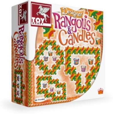 TOY KRAFT Toy Kraft Designer Rangolis & Candles