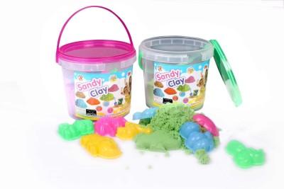 Rashmi Toys Sandy Clay - Non Toxic Smooth & Soft Sand