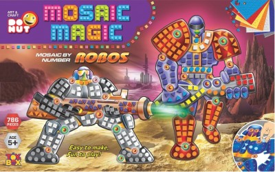 Toysbox Mosaic Magic - Robos