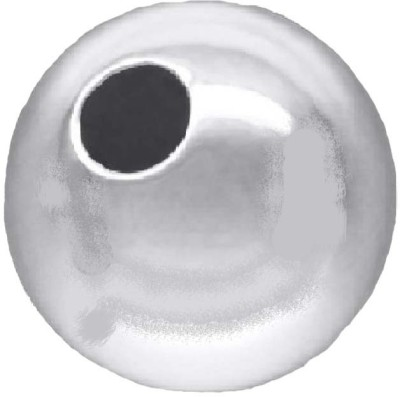 Ankit Collection 10 MM Round Silver Plated Copper Ball