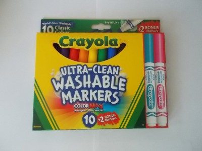 Crayola Ultra clean Washable Markers MAX Bonus Markers
