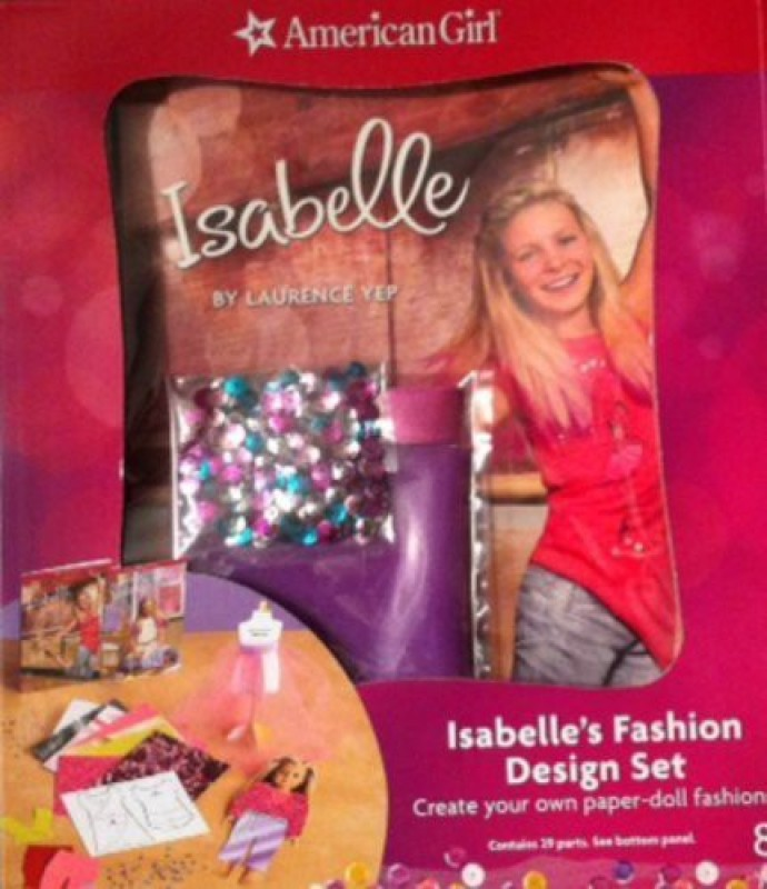 American Girl of the Year 2014 Isabelle's Fashion Design Set