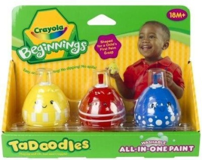 Crayola Washable All-In--One Paint Red, Blue, Yellow