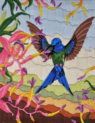 Anchor Stitch Kits - Humming Bird