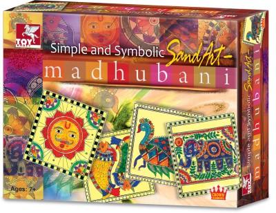 Toykraft Simple and Symbolic Sand Art - Madhubani
