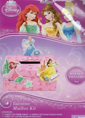 Disney Princess Valentine Mailbox Kit
