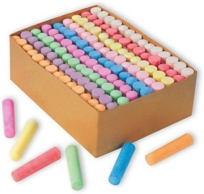 S&S Worldwide Color Splash Giant Box of Sidewalk Chalk (box of 126)