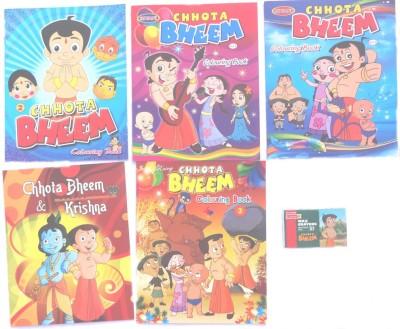Meilleur quills Chotta Bheem Colouring Kit