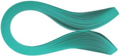 Tootpado 1000 Non-Metallic Quilling Paper Ribbons Strips (Shamrock Green 5mm)