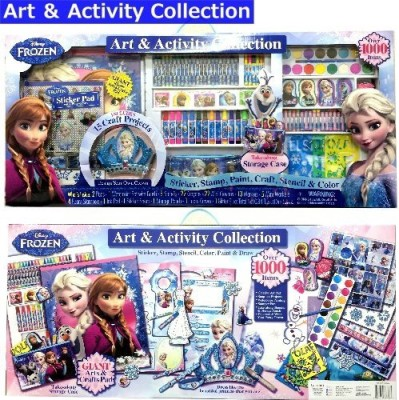 Disney Frozen Art & Activity Collection Includes 15 Craft Projects