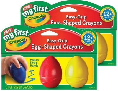 Crayola My First Crayola Scribbled Egg Crayons