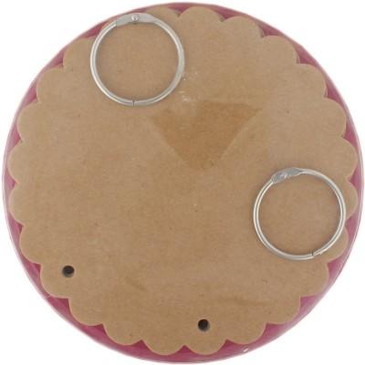 Tootpado Scalloped Circle Style Chipboard Mini Album Scrapbook (6,, x 6,,) - DIY Art & Craft Activites