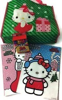 Mixed Hello Kitty Christmas Re-Usable Tote Bag With (2) Christmas Jumbo Coloring And Activity Books And Crayons best price on Flipkart @ Rs. 3029