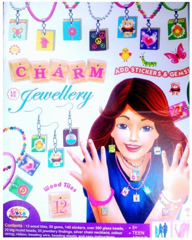 Ekta Toys Charm Jewellery with Stickers & Gems