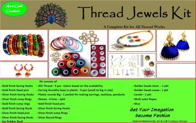 Art and Craft Creations Thread Jewel Making Kit - Volume1