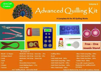 Art and Craft Creations Advanced Quilling Kit