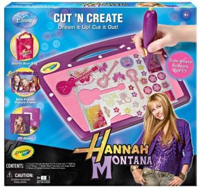 Crayola Hannah Montana Cut n, Create